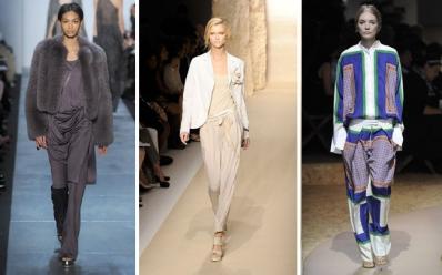 004731f590e71 Michael Kors, Donna Karan e a grife Céline apostaram em looks mais  discretos. Um paletó ou algo mais glamouroso como o casaco de peles (fake  ou não) ...