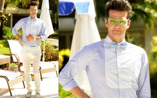 3ad45511d O personagem do ator Marcelo Serrado em 'Fina Estampa', o mordomo Crô,  adora o estilo nerd. O óculos wayfarer é bicolor e tem tons vivos, ótimo  para realçar ...